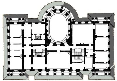 Yelagin Palace First Floor Floor Plans Architectural Floor Plans How To Plan