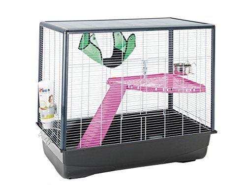 Lixit Animal Care Savic Zeno 2 Knock Down Hamster And Rat Cage