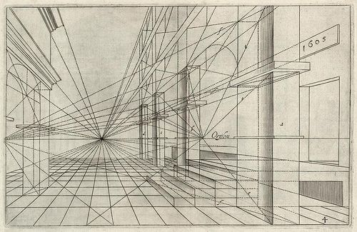 Famous Line Art : Durer perspective drawing google search architecture pinterest