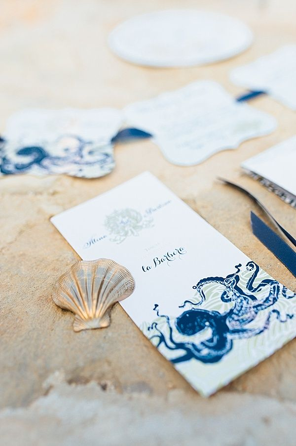 Some Beautiful Invitations For A Destination Beach Wedding Wed