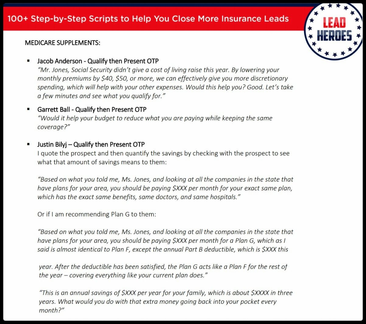 100 Scripts Tips Ch 6 What Questions Do You Ask To Get A Lead Emotionally Involved And Committed To A Solution Insurance Sales Insurance Script