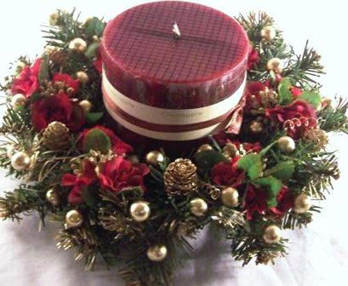 ideas navideas velas decoradas coronas navideas pesebre navideas reciclado centro navidad hogar