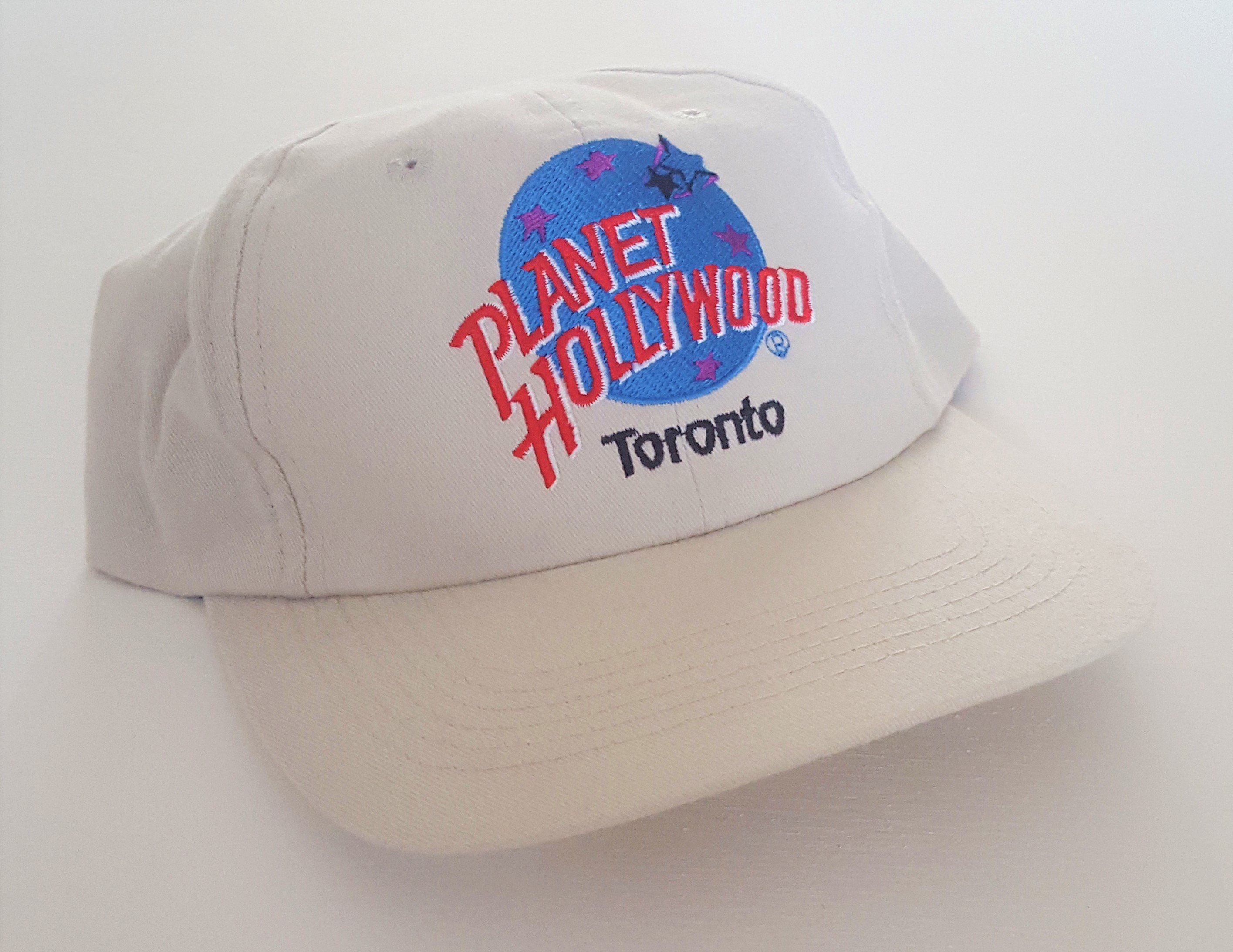 540b86b4ed75ee Vintage Toronto Planet Hollywood 90's Snapback Hat VTG by  StreetwearAndVintage on Etsy