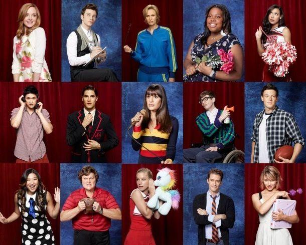 cast of glee season 3