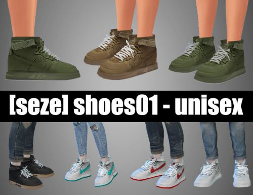 Shoes 01 at Seze via Sims 4 Updates