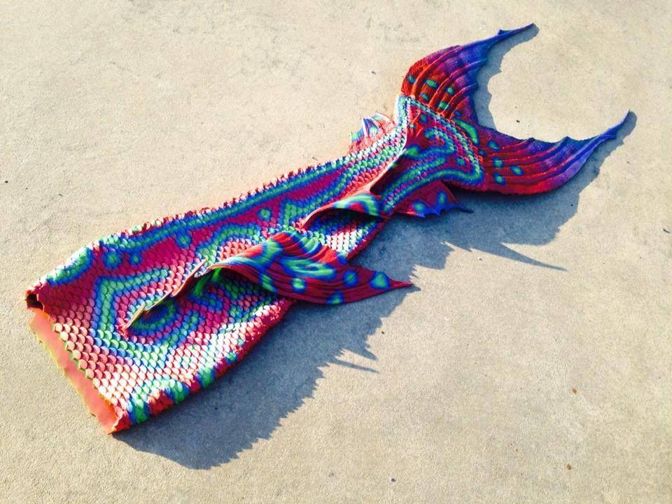 Mandarin Fish Merman Tail Mertailor