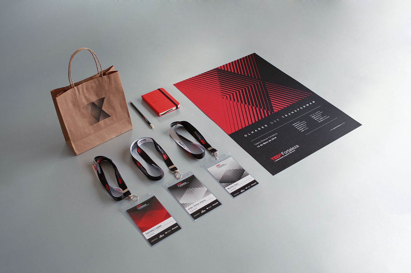 Beautiful TEDx Fortaleza Branding