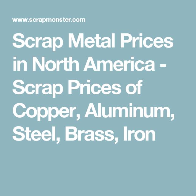 Scrap Metal Prices in North America - Scrap Prices of Copper ...