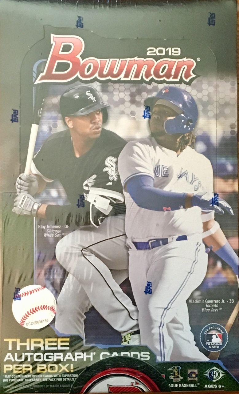 2019 Bowman Baseball Factory Sealed Jumbo Box Baseball