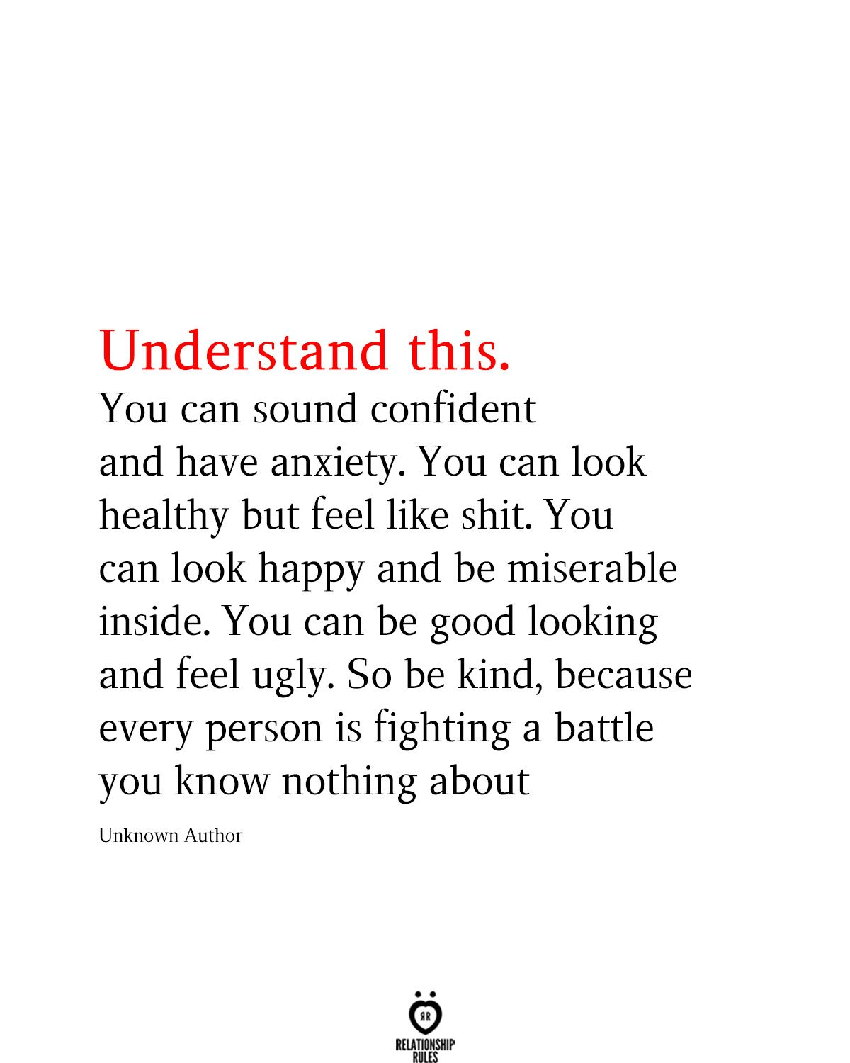 Understand This You Can Sound Confident And