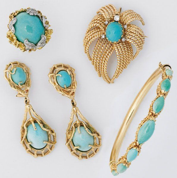 Gold Jewelry Persian Turquoise And Gold Jewelry Jewelry Vintage Jewelry Gold Jewelry