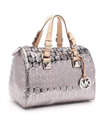 Silver Michael Kors Bag