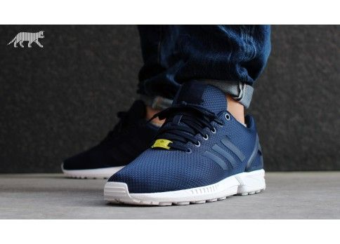Adidas Zx Flux New New Navy Running White Navy