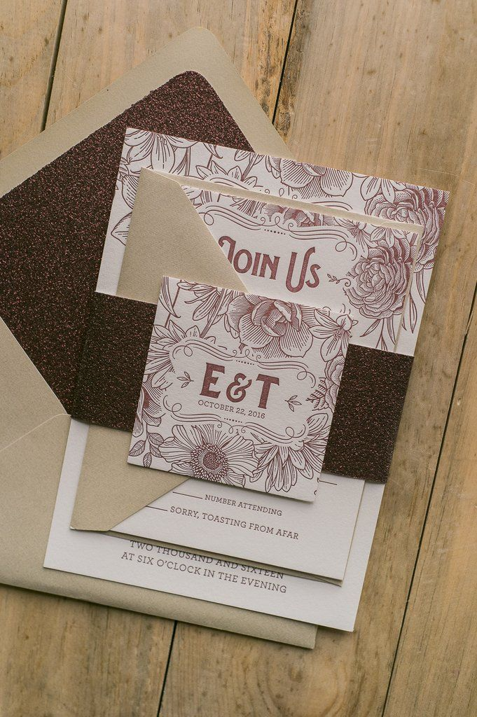 champagne blush wedding invitations%0A Winter weddings