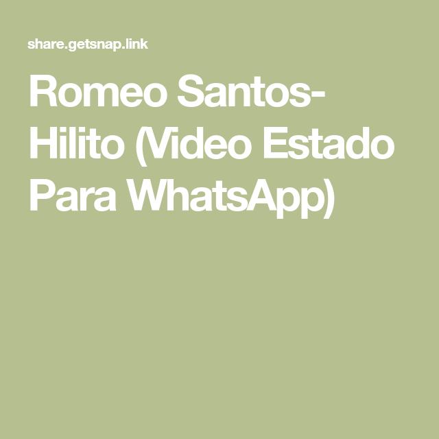 Romeo Santos Hilito Video Estado Para Whatsapp Joseph Gordon Levitt Romeo Santos Daddy Yankee