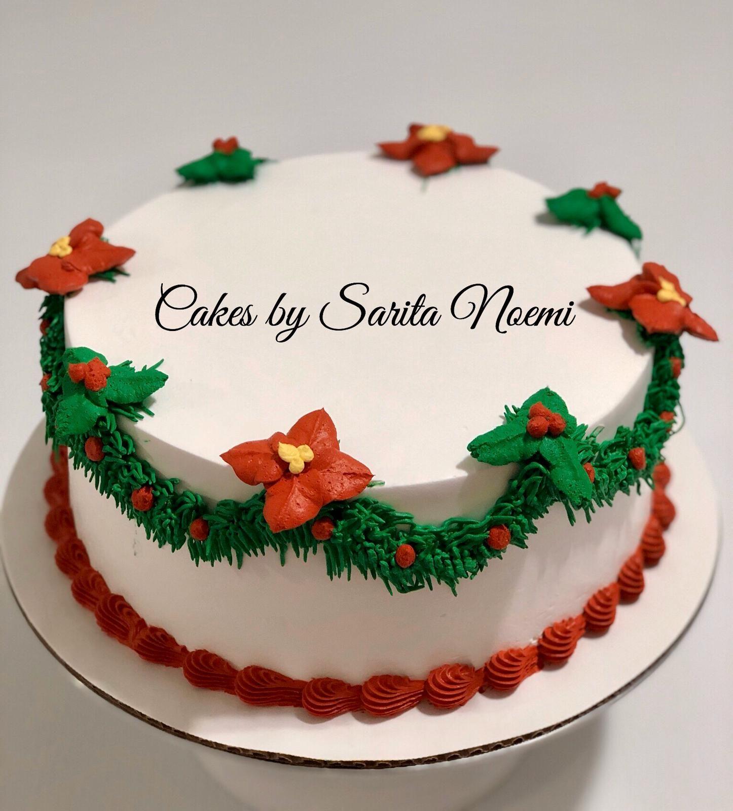 Christmas Cake Pastel Navideño Cómo Hacer Pasteles Decoración De Tartas De Navidad Reposteria Decoración