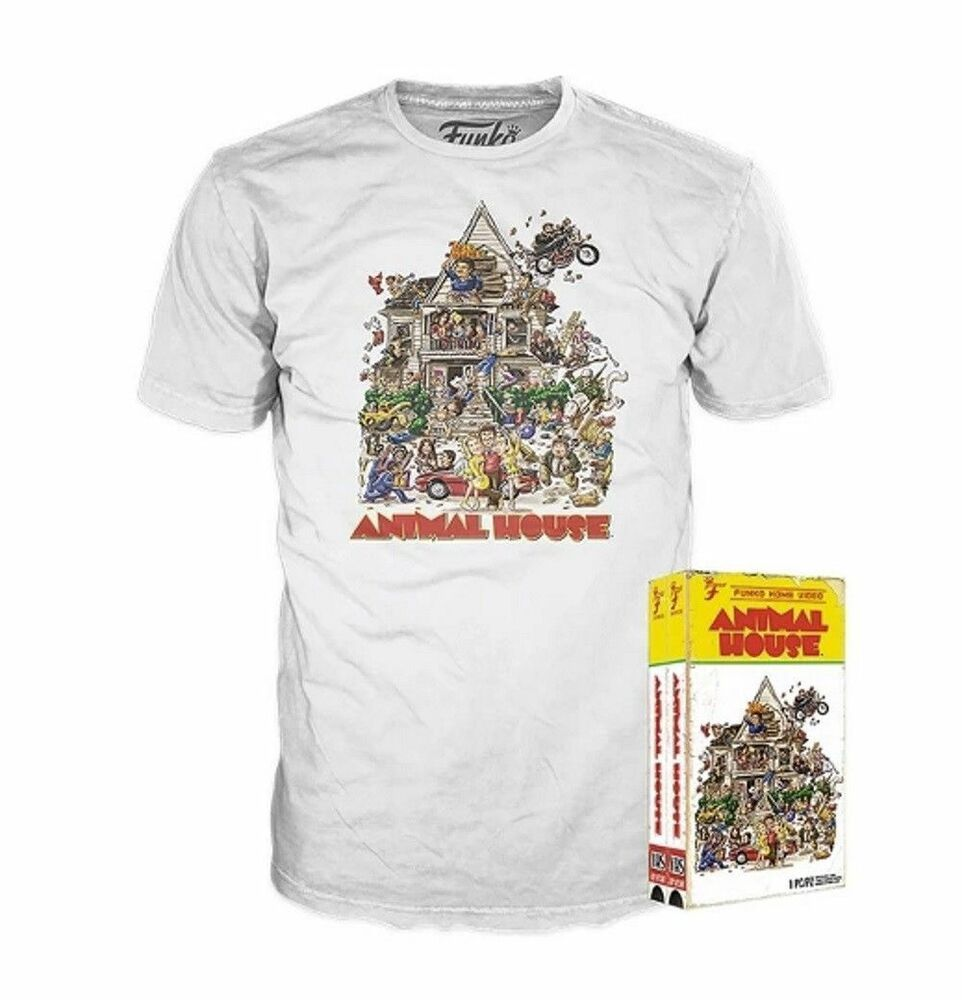 d96e3ad1e Animal House White T-Shirt S M L Tee Shirt ONLY Funko Home Video VHS Style  Box #Funko #GraphicTee