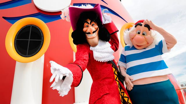 Image result for disney cruise captain hook