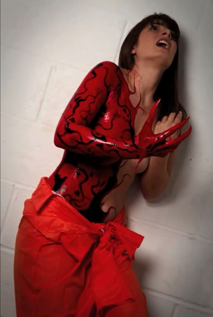 Female cosplay awesome carnage