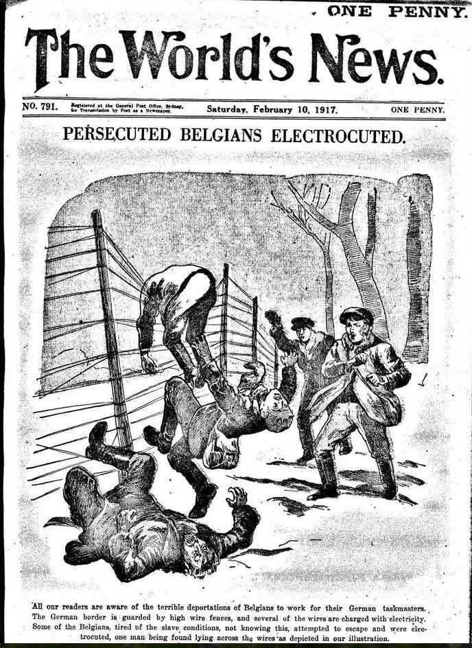 WWI, 10 Feb 1917: \