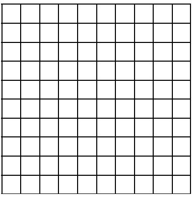 large grid graph paper for color charts | Beading Resources ...