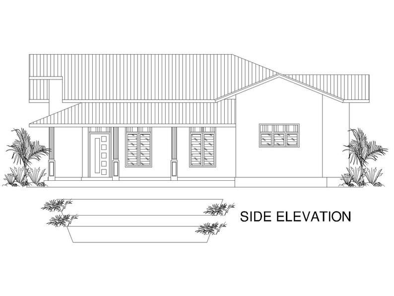 Custom Modern Tiny House Home Cabin Cottege Building plans 3 Bedroom & 1 bath room with Garage and AUTO CAD File