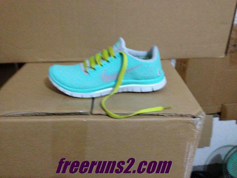 Womens Nike Free 3.0 V4 Tropical Twist tiffany blue nike