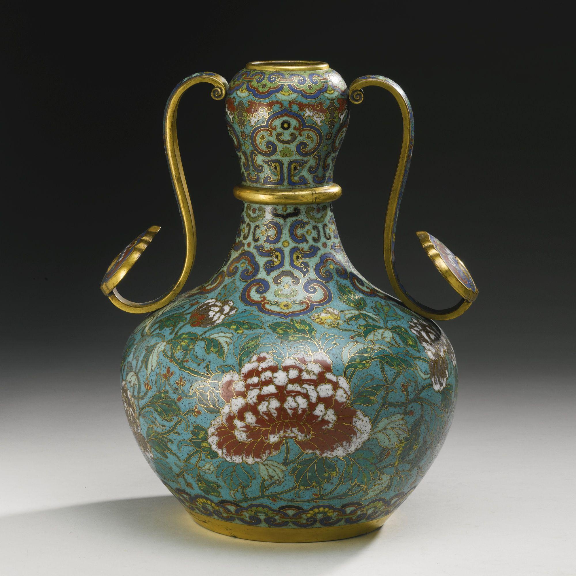 An unusual cloisonne enamel vase qing dynasty qianlong period an unusual cloisonne enamel vase qing dynasty qianlong period sothebys reviewsmspy