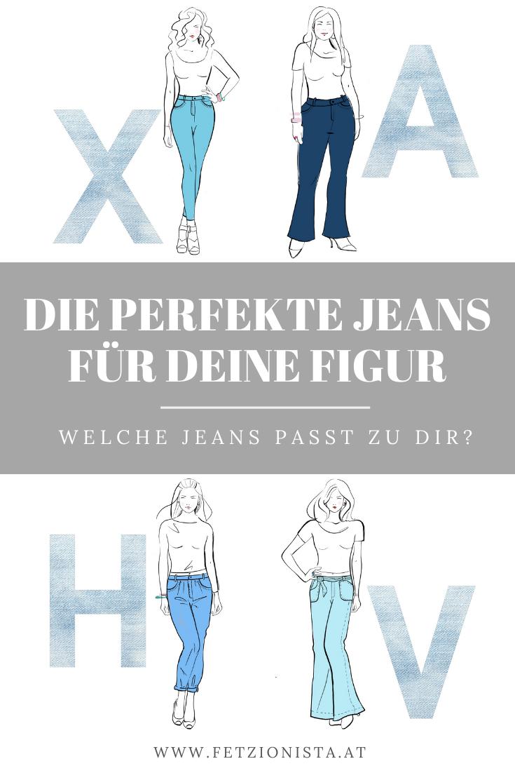 Die Perfekte Jeans Fur Deinen Figurtyp Fetzionista In 2020 Perfekte Jeans Figurtypen Jeans Fit