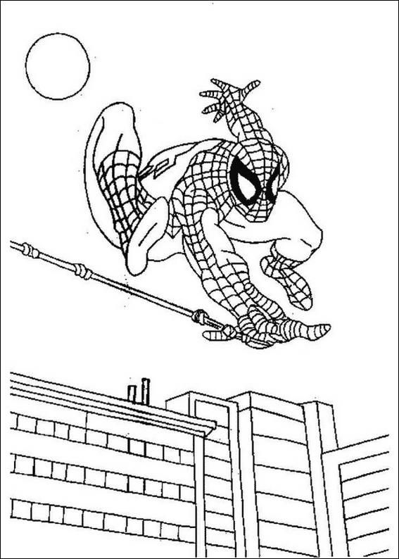 spiderman coloring pages 2 Spider Man Party Pinterest