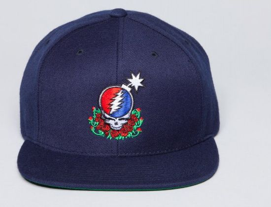 """THE HUNDREDS x THE GRATEFUL DEAD """"SYF"""" Snapback Cap  2ae6b8207249"""