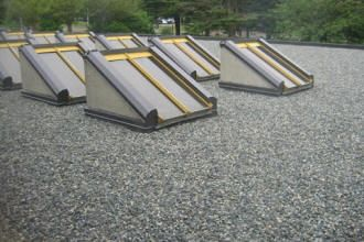 A Two Ply Torch On Roof System With Gravel Roofing Materials Roofing Systems Roof Maintenance