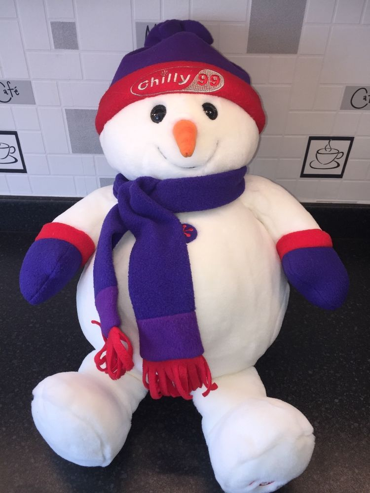 7643937c9 Tesco Chilly Giant Snowman - 1999 edition - collectors item rare ...