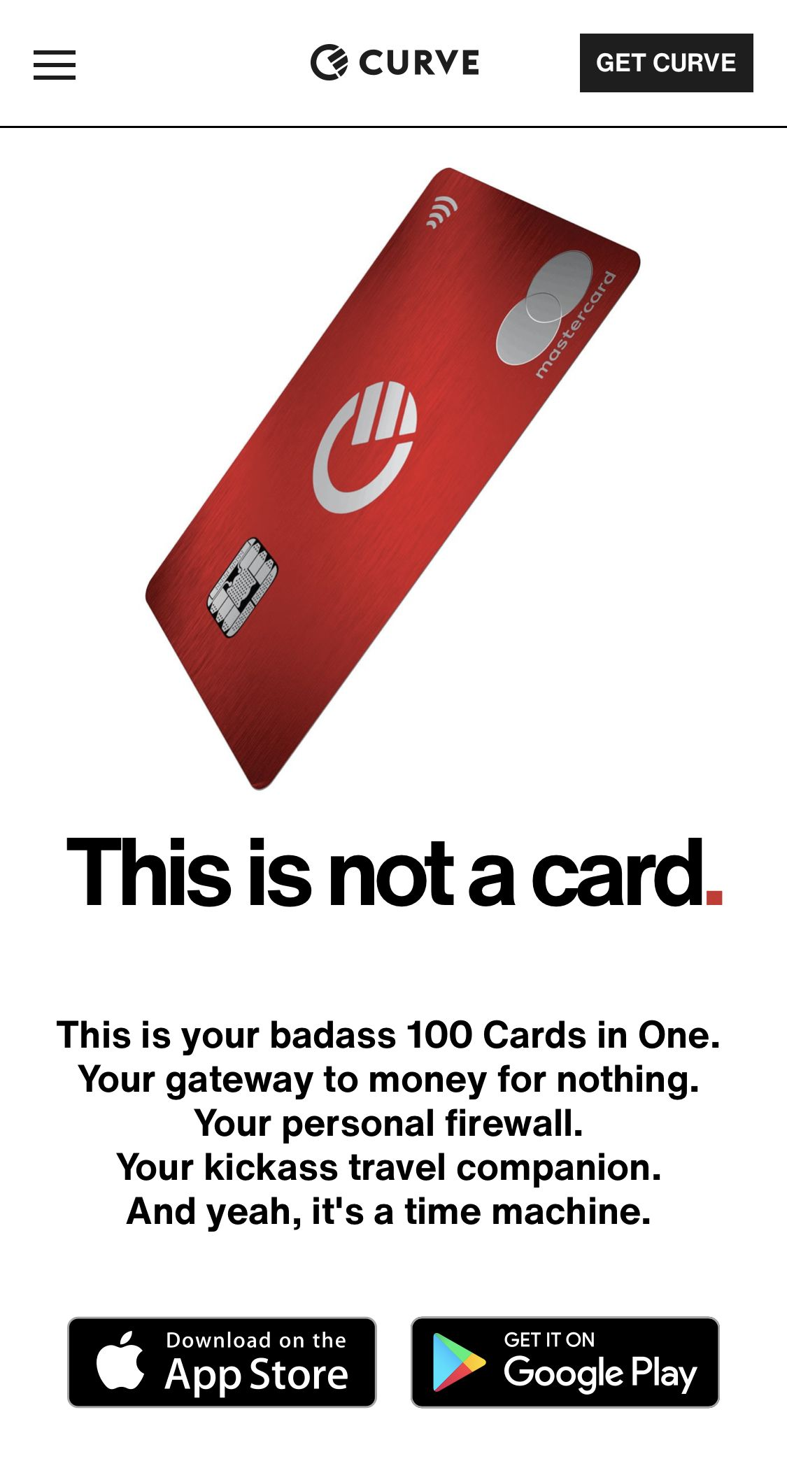 Curve app in 2020 cards your cards money for nothing