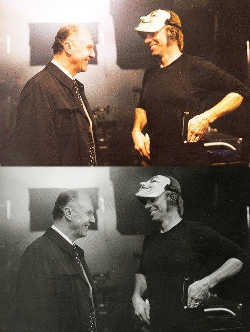 100 Films 100 Behind The Scenes Photos Part 1 V For Vendetta Hugo Weaving Scene Photo