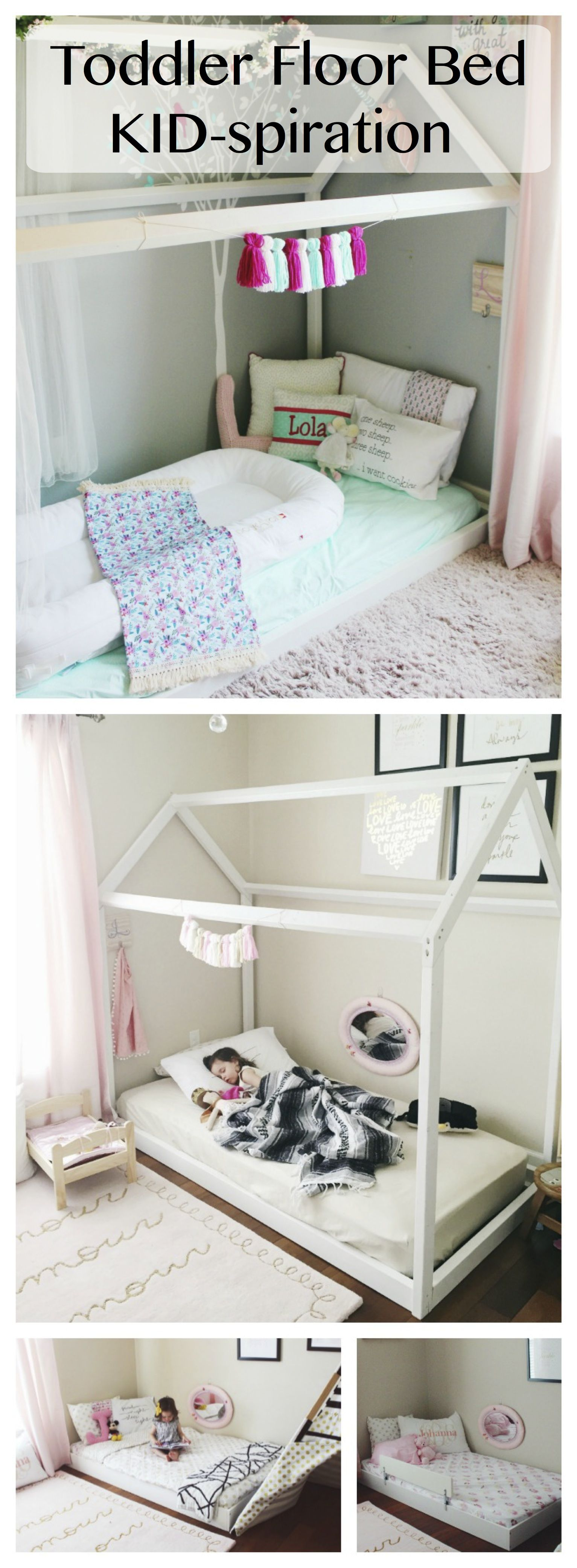 For all your Toddler Floor Bed inspirations and tips visit us at www.ohhappyplay.com