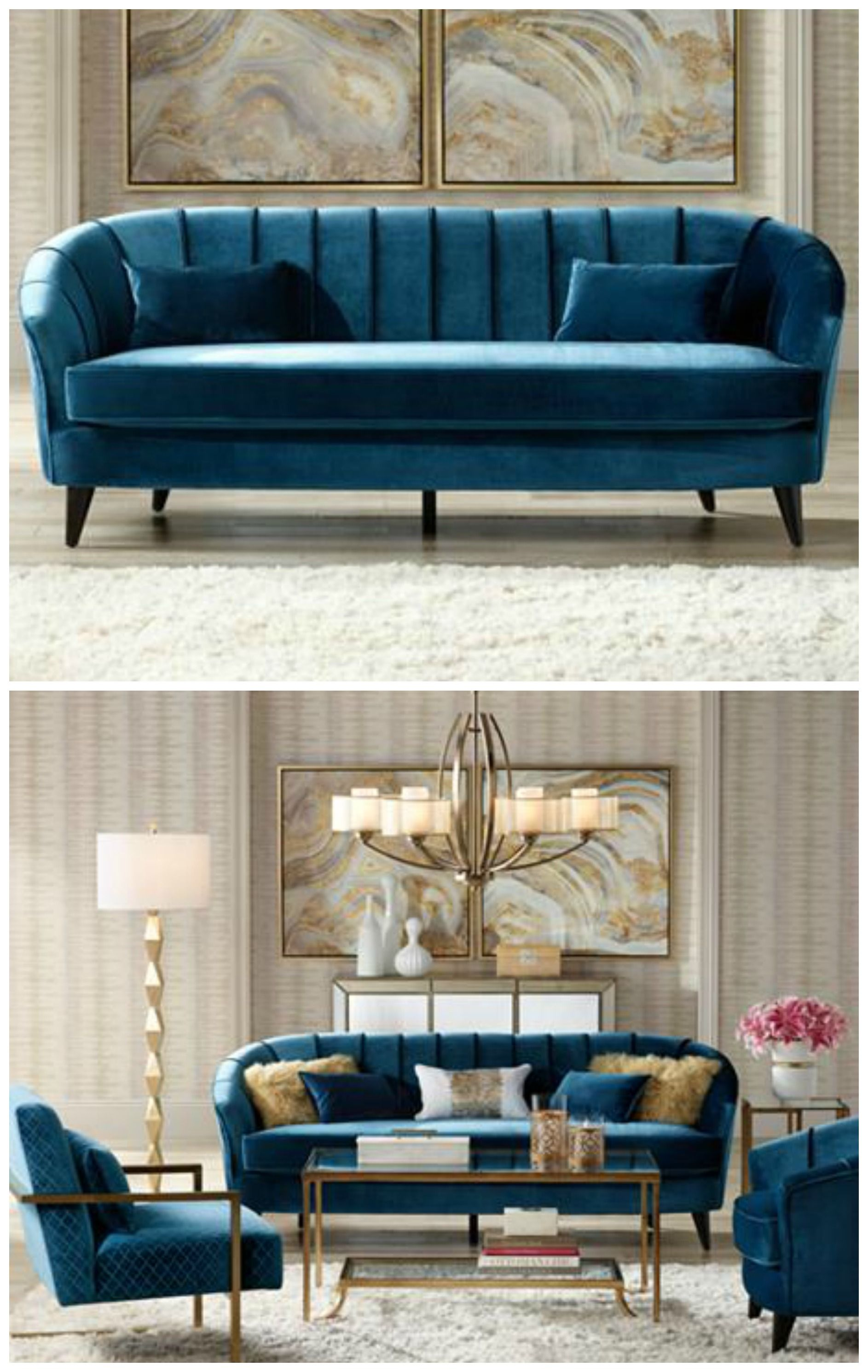 Add The Quot Wow Quot Factor To Your Home With This Bold Teal Blue