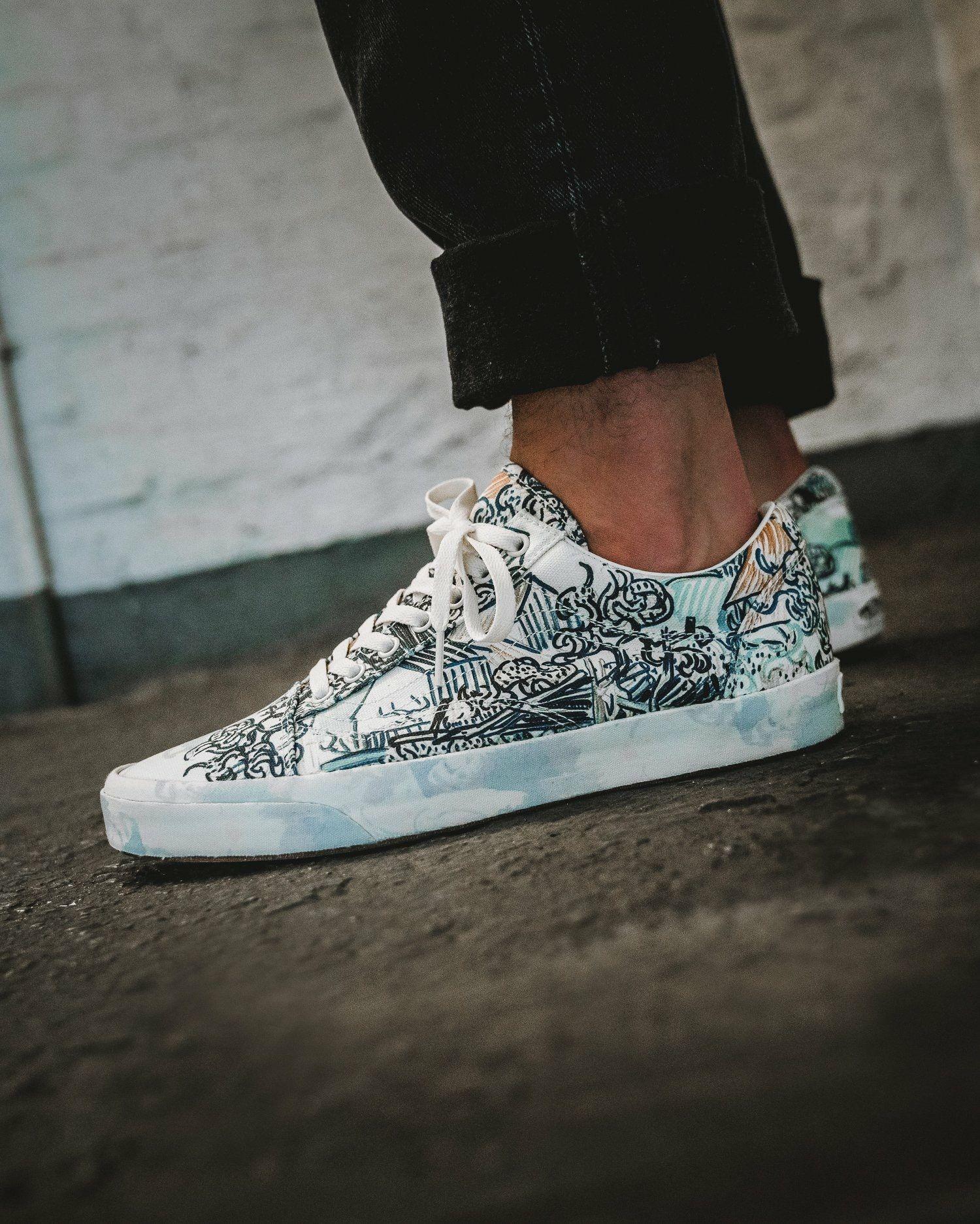 Van Gogh X Vans Vans Outfit Vans Sneakers
