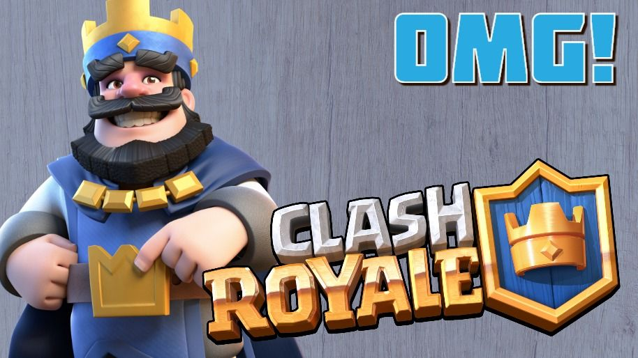 Omg Clash Royale Youtube Thumbnail Youtube Thumbnail Template Clash Royale