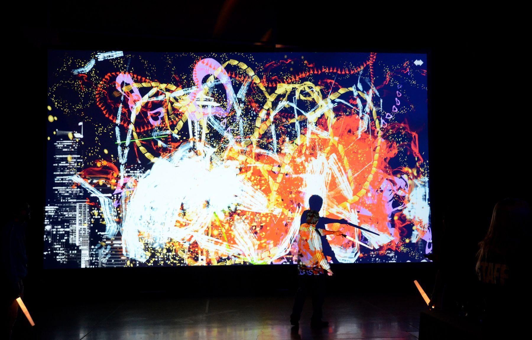 Loplite est un dispositif num rique de dessin interactif et collectif freestyle pinterest - Dessin interactif ...