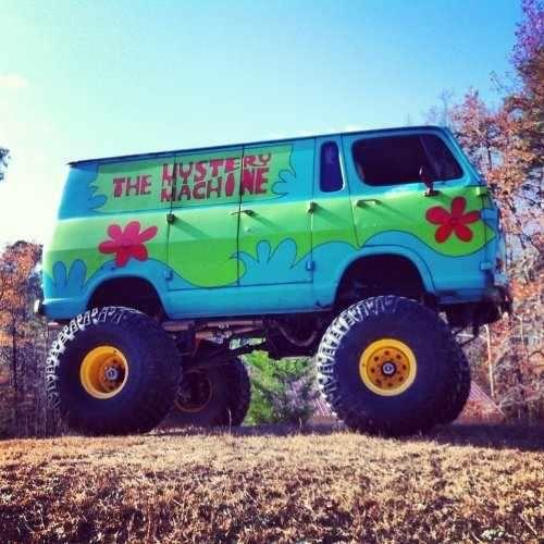 Mystery Machine Monster Trucks Trucks Lifted Cars