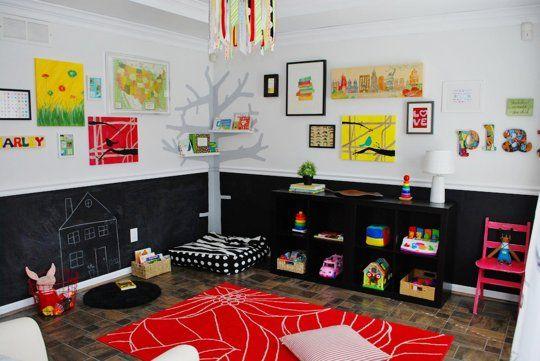Pin On Kids Playrooms