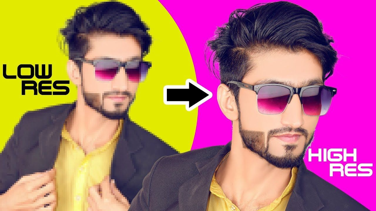 How To Improve Low Resolution Image To High Resolution In Corel Draw 2019 Photoshop Images Photo Cutout Photoshop Tutorial