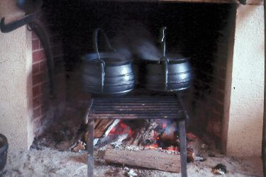 hearth cooking equipment | open hearth cooking is the oldest way ...