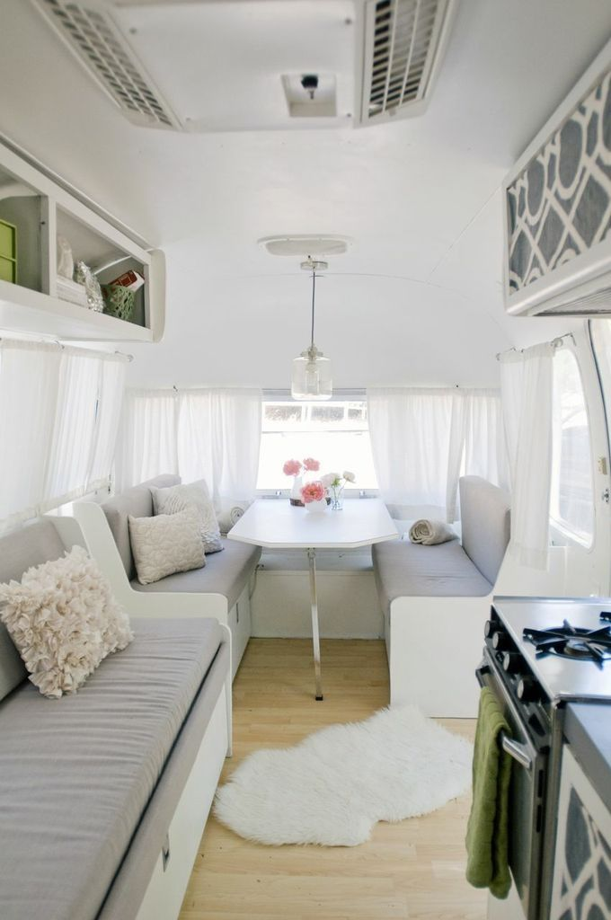 Now This Is My Kind Of Camping! 25 Stunning Trailers: Homes With 4 Wheels.  The Word U0027glamperu0027 Comes To Mind.