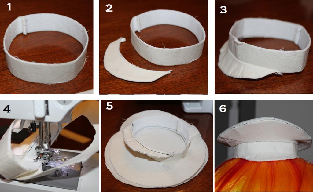 Tutorial How To Sew A Mini Pilot Captains Hat