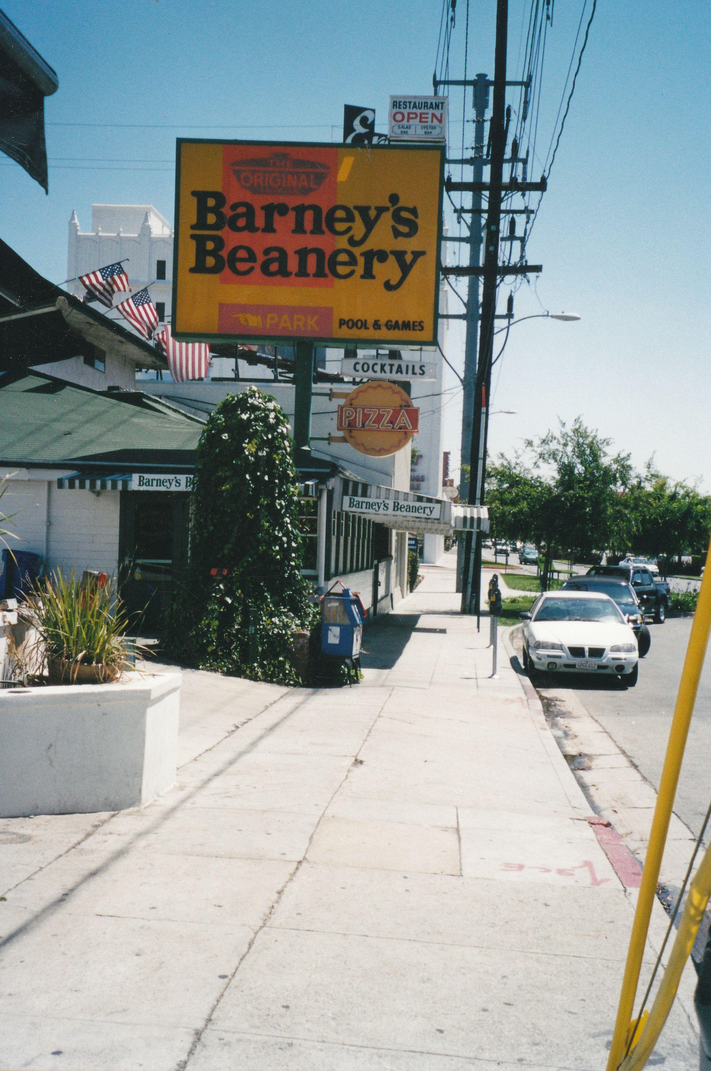 Barney S Beanery West Hollywood Vintage Los Angeles Ca History Street Scenes