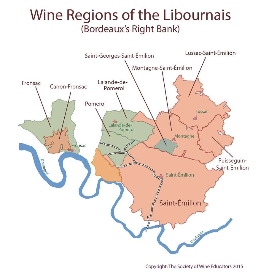 Libournais bordeaux wine wineeducation Wine Education