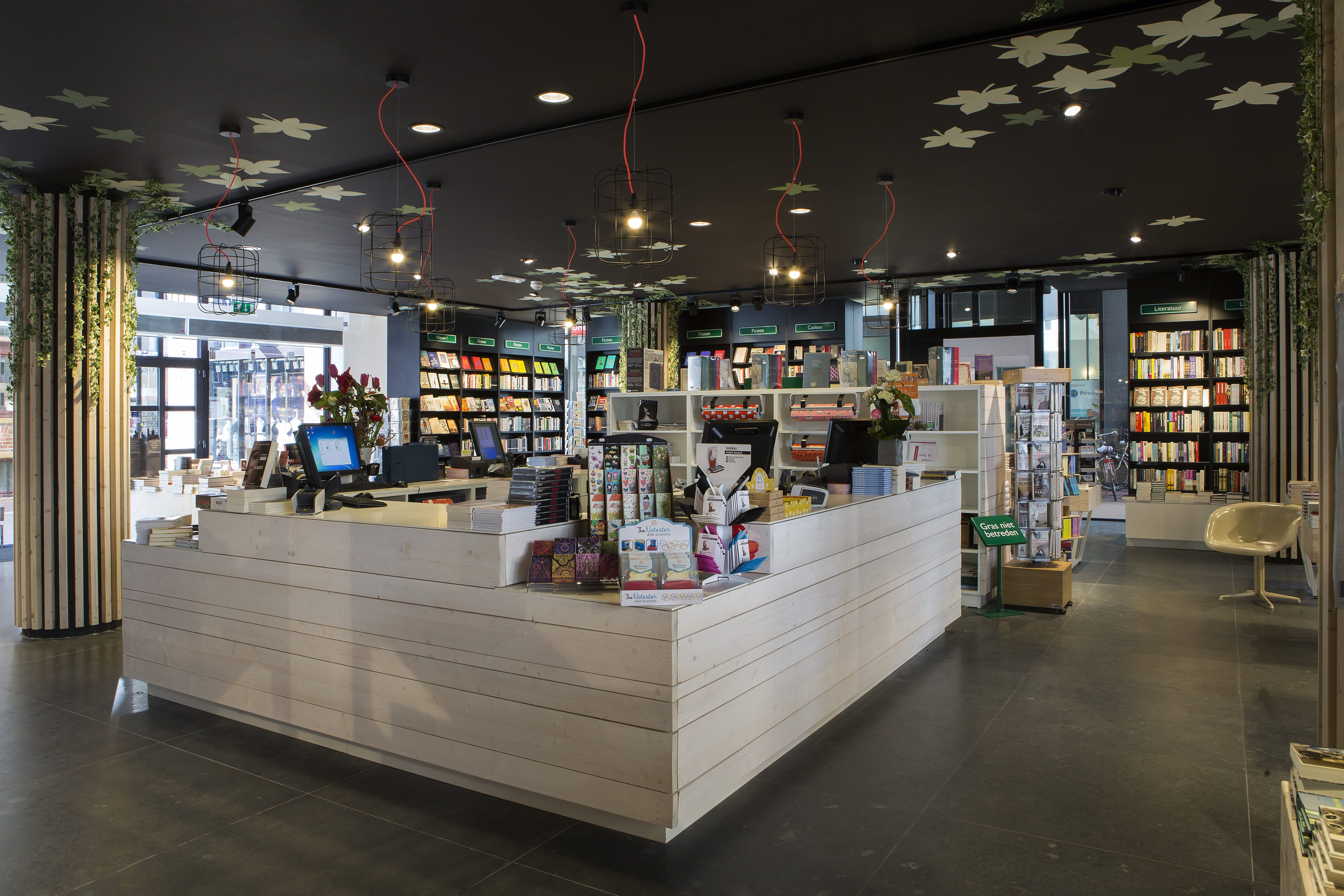 Bookstore Design Retail Shop Store Bookshop Interior