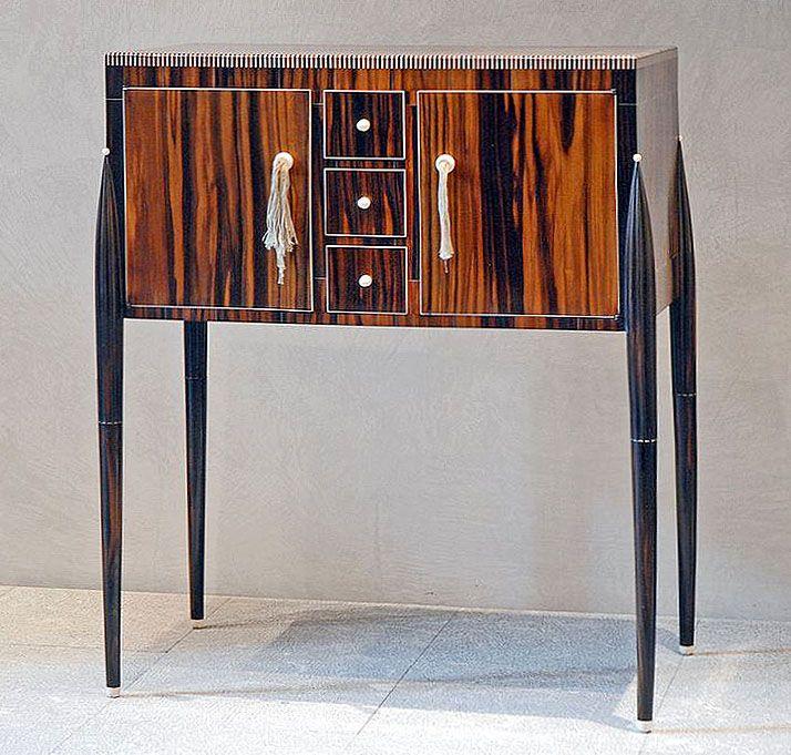 French Art Deco VidePoche Fuseaux De EmileJacques Ruhlmann En